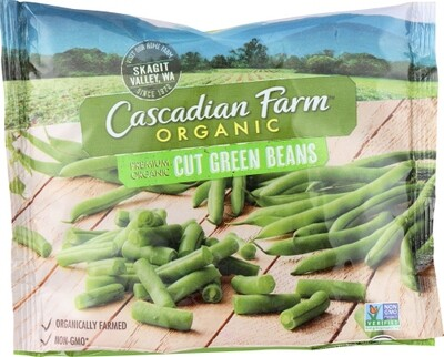 Cascadian Frozen VEG GREEN BEANS ORG