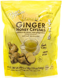 Prince Of Peace Ginger Beverage Honey Crystals Bag 30 Ct