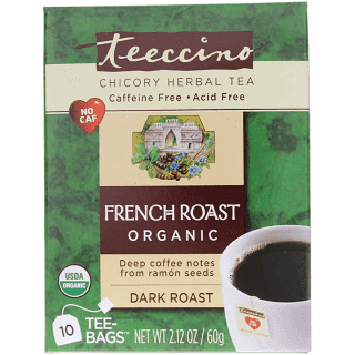 Teeccino Herbal Coffee French Roast Organic