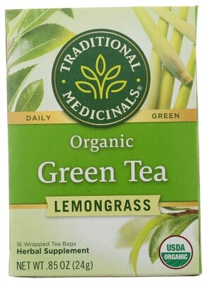 Traditional Medicinal Tea- Green Tea/Lemongrass