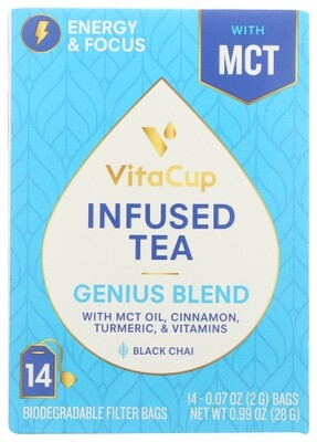 VitaCup Genius Blend Tea With MCT