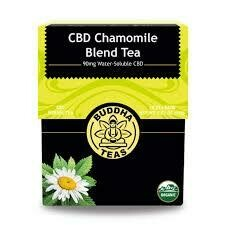 Buddha Tea Organic CBD Chamomile Blend Tea 18 Bags