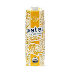 Rethink Water Lemon 33.8 fl. oz