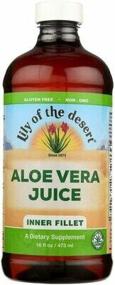 Lily Of The Desert Aloe Vera Juice 16 Fl Oz
