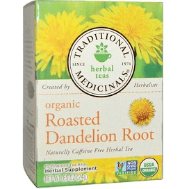 Traditional Medicinals Organic Dandelion Roasted Root Tea