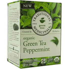 Traditional Medicinal Tea- Green Tea/Peppermint
