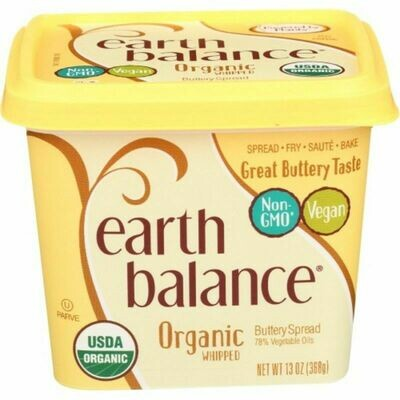Earth Balance Organic Whipped Buttery Spread 13 oz.