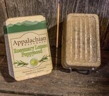 Appalachian Soap Rosemary Lemon Poppyseed