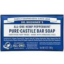 Dr. Bronner Soap Bar Hemp Peppermint