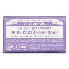 Dr. Bronner Soap Bar Lavender