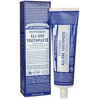 Dr. Bronner Toothpaste Peppermint