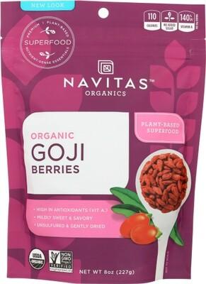 Navitas Organic Goji Berries 8 oz