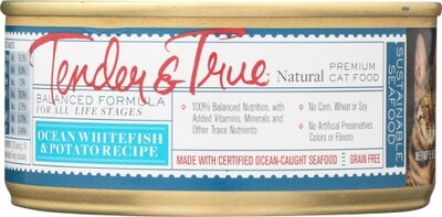Tender & True Ocean Whitefish & Potato Cat Food