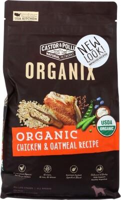 Castor & Pollux Dog Food Can Chkn Oatm