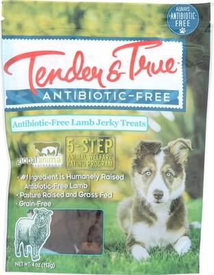 Tender & True Antibiotic Free Lamb Jerky Dog Treats