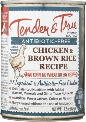 TT ABF Chicken Brn. Rice  Dog Wet