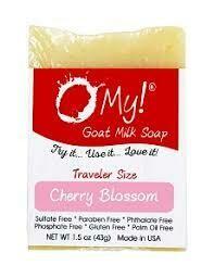 O My Goat Milk Cherry Blossom Soap