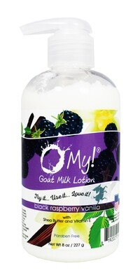 O My Goat Milk Black Raspberry Lotion