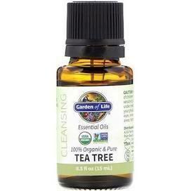Garden Of Life Essential Oil Tea Tree 0.5 Fl Oz