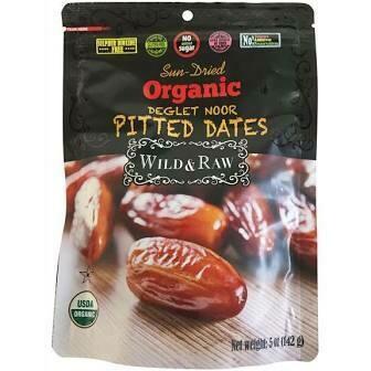 Organic Wild & Raw Pitted Dates