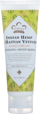 Nubian Heritage Indian Hemp Vetiver Hand Cream