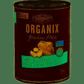Organix Dog Food Can Chicken Potato