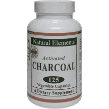 Activated Charcoal Veg Capsules- 125 ct