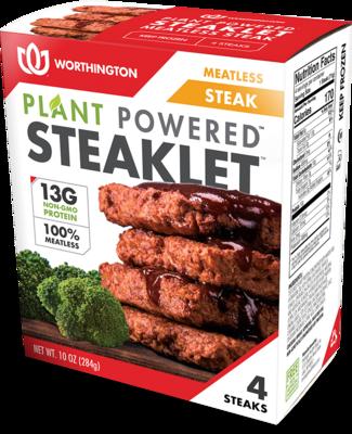 Worthington Plant Powered Steaklets