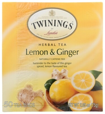 Twinings TEA LEMON GINGER