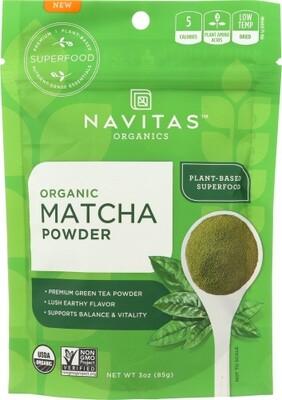 Navitas Organic Matcha Powder 3 OZ