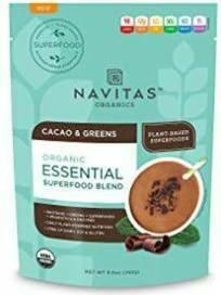 Navitas Organic Essential Superfood Blend Cacao & Greens 8.8 oz