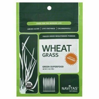 Navitas Organic Wheatgrass Powder 1 oz