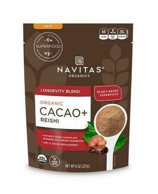 Navitas Organic Cacao Longevity Powder 8oz
