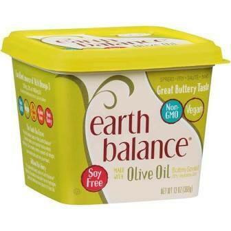 Earth Balance  Olive Oil Buttery Spread, 13 Ounce