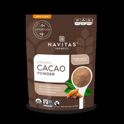 Navitas Organic Cacao Powder 8oz