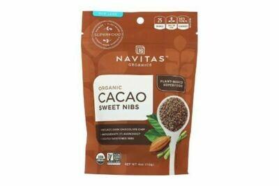 Navitas Organic Cacao Nib Sweetened 4oz