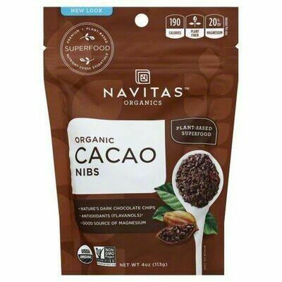 Navitas Organics Cacao Nibs 4 oz