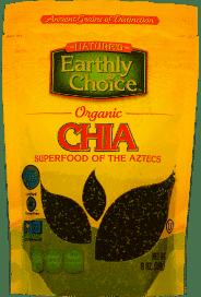 Nature's Earthly Choice Organic Chia 8 oz