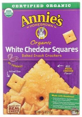 Annie's White Cheddar Squares