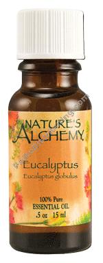 Nature's Alchemy Organic Essential Oil Eucalyptus