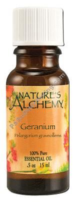 Nature's Alchemy Essential Oil Geranium