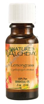 Nature's Alchemy Essential Oil Lemongrass