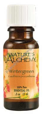Nature's Alchemy Essential Oil Wintergreen