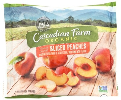 Cascadian Farm Organic Sliced Peaches 10 oz