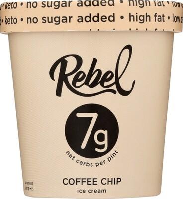 Rebel Ice Cream Coffee Chip