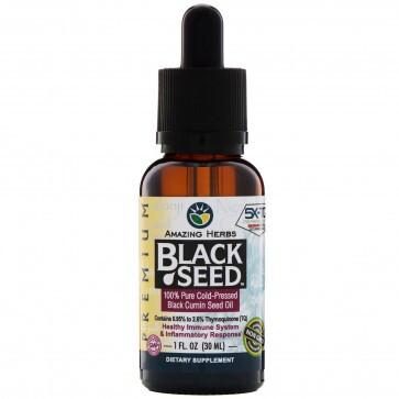 Amazing Herbs Black Seed Oil 1oz.