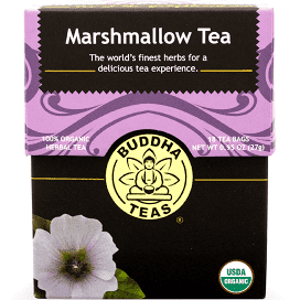 Buddha Tea Organic Marshmallow Leaf Tea 18 Bags