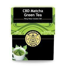 Buddha Tea Organic CBD Matcha GreenTea 18 Bags