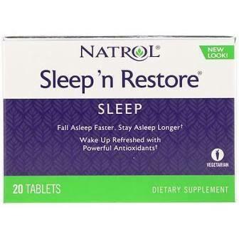 Natrol Sleep 'n Restore 20 Vege. Tabs