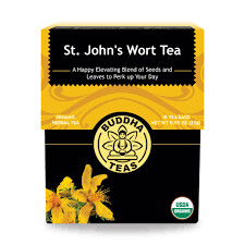Buddha Tea Organic St John's Wort Tea 18 Bags